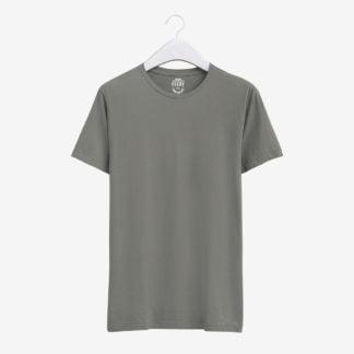 Gri Basic T-Shirt