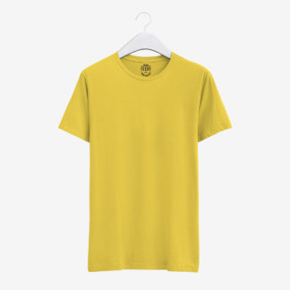 Sarı Basic T-Shirt