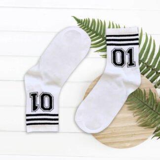 01 Beyaz Çorap