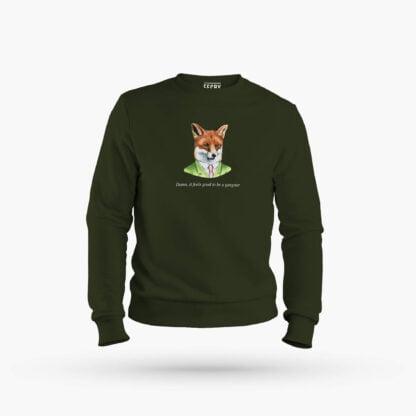 Gangsta Tilki Sweatshirt