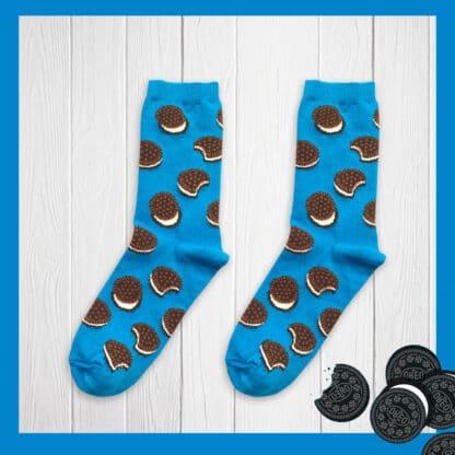 Oreo Desenli Çorap